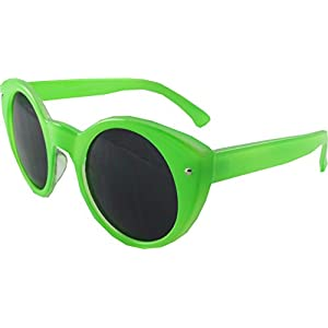 Revive Eyewear Women's All About Eve Cats Eye Green Frame/ Black Lens Non Polarized Sunglasses 140