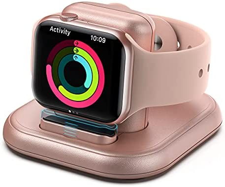 Charging Stand for Apple Watch, Portable Watch Charger Stand with Charging Cable, Magnetic Wireless Charging Stand Compatible with Apple Watch Series SE 6 5 4 3 2 1, 44mm, 42mm, 40mm, 38mm