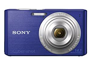 Sony Cyber-shot DSC-W610 14.1 MP Digital Camera with 4x Optical Zoom and 2.7-Inch LCD (Blue) (2012 Model)