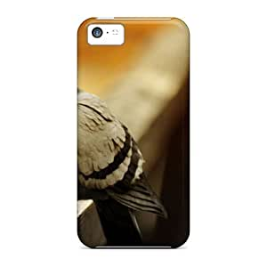 Cynthaskey Case Cover Protector Specially Made For Iphone 5c Animals Crazy Bird