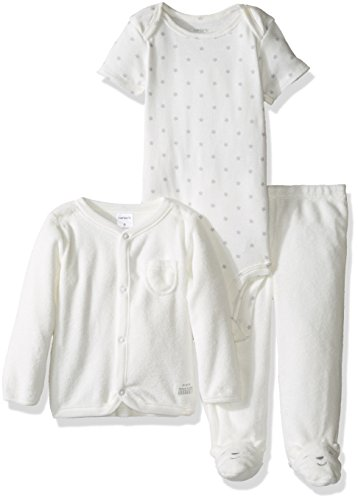 Carters Unisex Piece Terry Footed