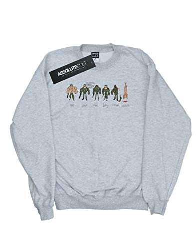 Mujer Cult De Absolute Doodle Alex large Deporte Gris Xx Jungle Entrenamiento Camisa Chenery dBZxBtnw4