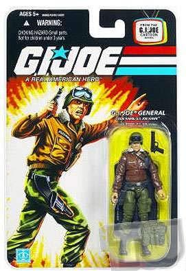 G.I. Joe 25th Anniversary Cartoon Series Cardback: General Hawk 3-3/4 Inch Action Figure ()
