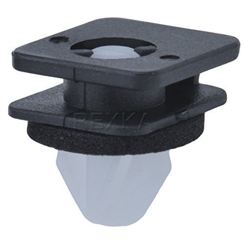 Rexka Windshield Moulding Clip With Sealer for Ford Explorer 2011- (Pack of (Ford Moulding Clips)
