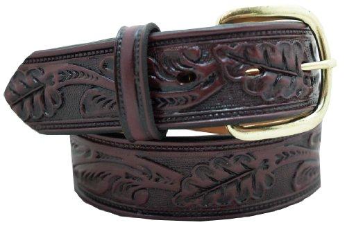 Classic Embossed Belt (Men's Casual Belt 1 1/2