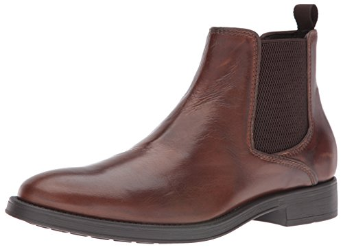 Geox Men's Mblade18 Chelsea Boot, Brown Cotton, 44 EU/11 M US by Geox