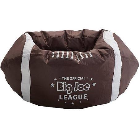 Big Joe Football Bean Bag, It Is Upholstered With SmartMax Ballistic Fabric To Offer A Sleek
