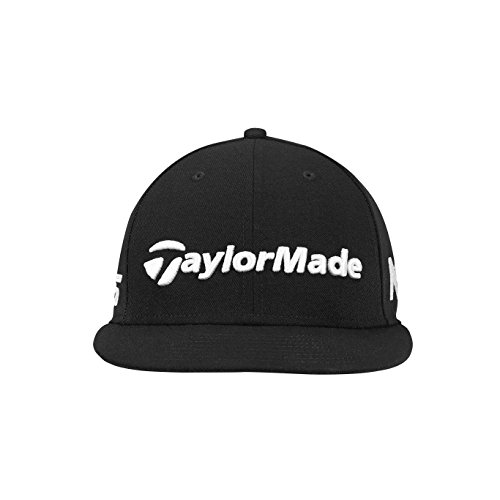 TaylorMade Golf 2018 Mens New Era Tour 9fifty Hat, Black, One Size