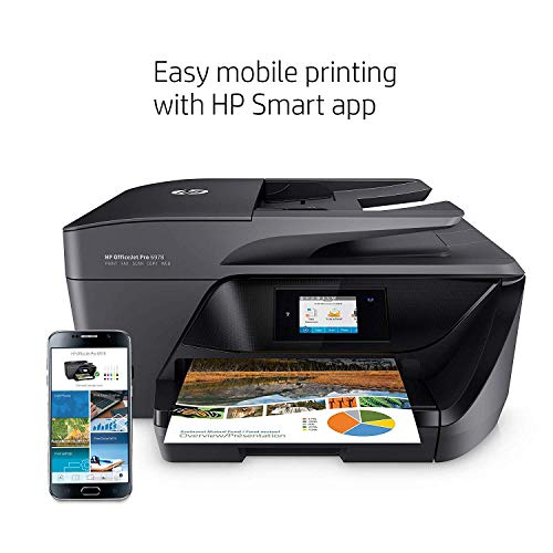 HP OfficeJet Pro 6978 All-in-One Wireless Printer with Mobile Printing, HP Instant Ink & Amazon Dash Replenishment Ready (T0F29A) (Renewed) by HP (Image #7)