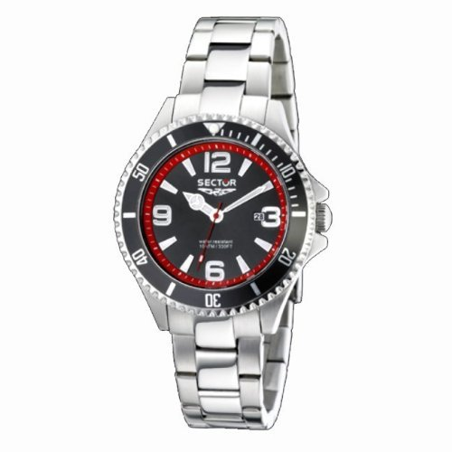 Sector Men's R3253161002 Racing Stainless Steel Watch with Link Bracelet