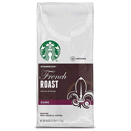 2 Packs of 40 Oz Starbucks French Roast Whole Bean Coffee = 2 x 40 Oz = 80 ()