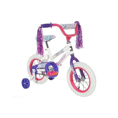 "Magna Girls' 12"" Jewel Durable Safe Fun for Kids Bicycle Wit"