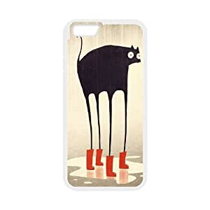 """Hjqi - Customized Tabby Cat Phone Case, Tabby Cat DIY Case for iPhone6 Plus 5.5"""""""