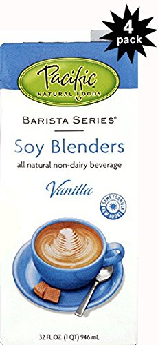 Pacific Foods Barista Blenders Soy Vanilla 32oz (4 Pack)
