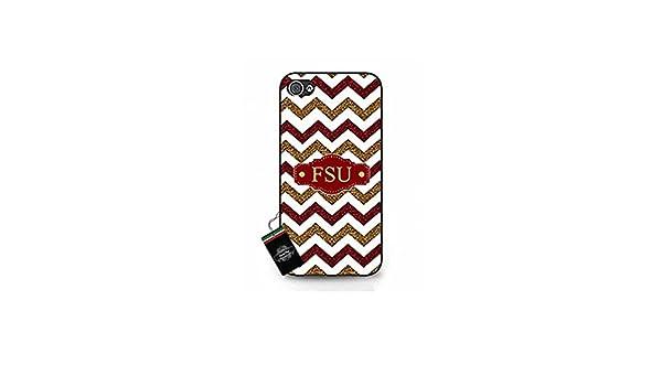 e5c68ed62cb5a Amazon.com: Cool NCAA Collection FSU SEMINOLES Symbol Slim Case for ...