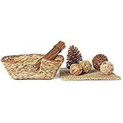 Niteangel Woven Grass Small Animal Bed Fun Play Toys