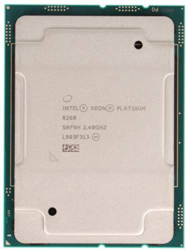Intel Xeon Platinum 8260 Processor 24 Core 2.40GHZ 36MB 165W CPU CD8069504201101 (OEM Tray Processor)