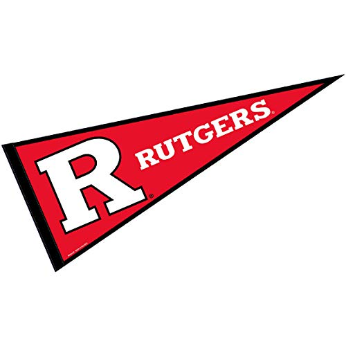 College Flags and Banners Co. Rutgers Pennant Full Size Felt