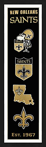 New Orleans Saints Picture Frame - 1