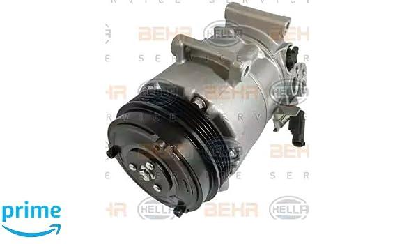 BEHR HELLA SERVICE 8FK 351 110-901 Compresor, aire acondicionado: Amazon.es: Coche y moto