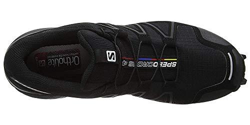 Salomon Men's Speedcross 4 Trail Runner, Black A1U8, 7.5 M US by Salomon (Image #11)