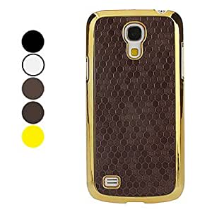 Snakeskin Grain Pattern Hard Case for Samsung Galaxy S4 mini I9190 (Assorted Colors) --- COLOR:Silver