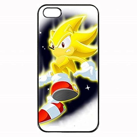 Sonic The Hedgehog Super Sonic Hard Case Back For iPhone 4 & iphone 4s (Sonic Iphone 4s Case)
