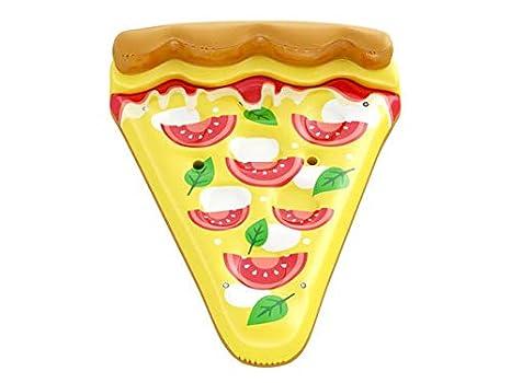 Floatie Kings Pizza Napolitano Flotador de Piscina - Inflable Gigante: Amazon.es: Juguetes y juegos