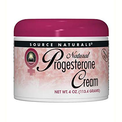 - Source Naturals Progesterone Cream - Women's Health Support - High Purity, Paraben Free - 4 Ounces
