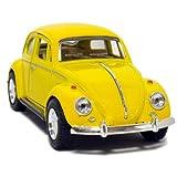 """5"""" 1967 Volkswagen Classic Beetle 1:32 Scale (Yellow)"""