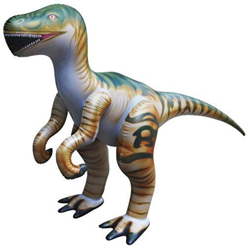 Raptor Halloween Prank (Jet Creations Inflatable Raptor Dinosaur Toy, 51