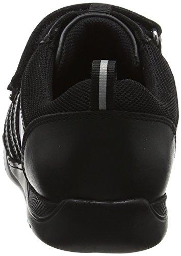 Hush Puppies Jungen Josh Sneaker Schwarz (Black)