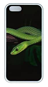 2013 Green Snake Desktop PC Silicone Hard Case For Samsung Galsxy S3 I9300 Cover Case CovWhite