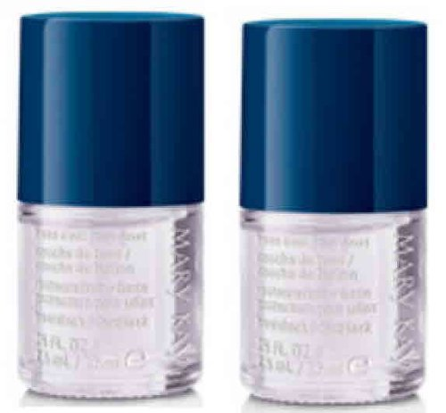 Set of TWO Mary Kay Nail Lacquer Polish Top / Base Coat (Mary Kay Nail)