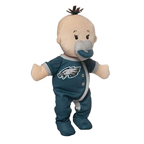 Baby Fanatic Philadelphia Eagles Wee Baby Stella Officially Licensed NFL Soft Baby Doll