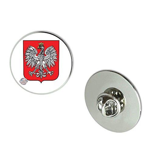 NYC Jewelers Poland Polish Eagle Polska Metal 0.75