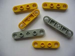 LEGO 3649 Technic - Engranaje de 40 dientes, color gris claro