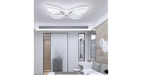 Personalidad Techo Luces Mariposa LED Luces De Techo De Diseño De Habitación De Los Niños con Las Niñas De Brillo Ajustables: Amazon.es: Hogar