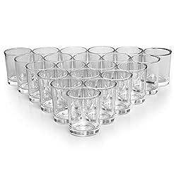 LETINE Glass Votive Candle Holders Set o...