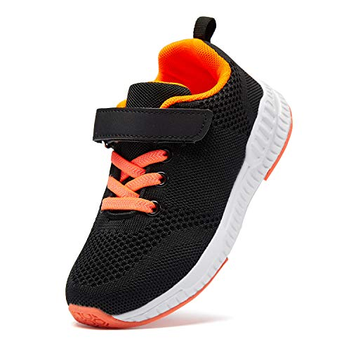 Casbeam Kids Lightweight Breathable Walking Running Tennis Shoes for Boys and Girls