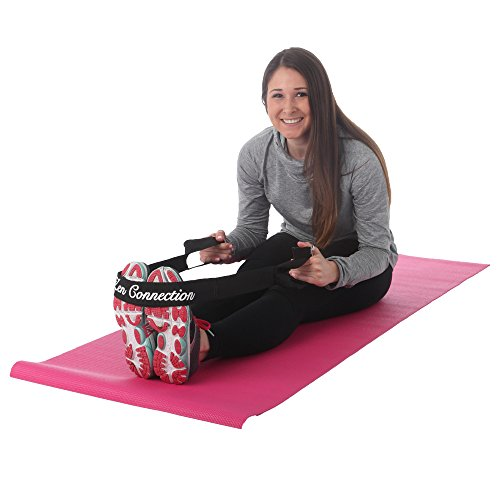 FMS Zen Connection Yoga Mat Sling Harness Carrying Strap With Stretch Strap Loops