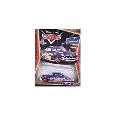 Disney Pixar Cars Supercharged Fabulous Hudson Hornet with Red Wheels Character Car: Toys & Games