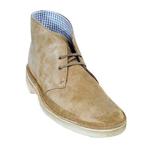 Clarks Originals - Zapatillas de Otra Piel para hombre multicolor Oakwood Suede
