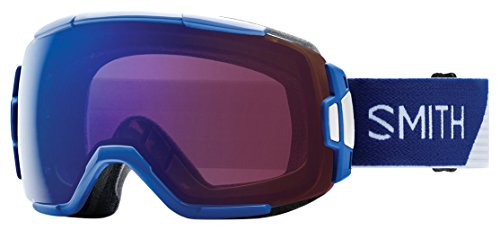 Smith Vice Masque de Ski Homme, Klein Blue Split