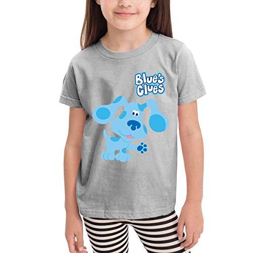 (SuperLee Toddler Blue's Clues Dog Classic Short Sleeve T-Shirt Gray 3T )
