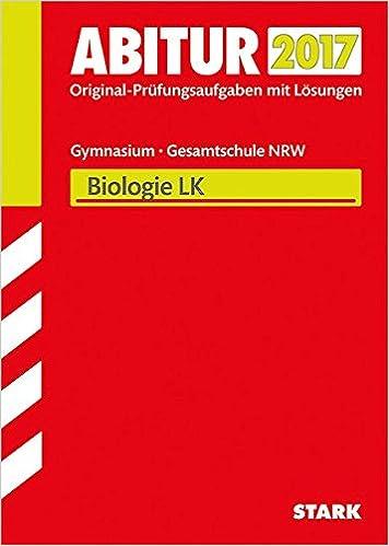 Abiturprüfung Nordrhein-Westfalen - Biologie LK: Amazon de