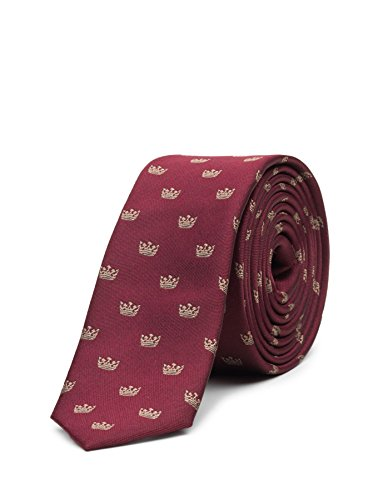 Paisley of London, Boys Royal Burgundy Crown Tie, One Size by Paisley of London (Image #3)
