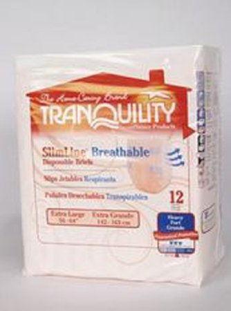Tranquility Extra Large Breathable Brief - 72 per Case   B00R9V096I