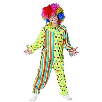 Disfraz payaso niño - 4 - 6 años: Amazon.es: Juguetes y juegos