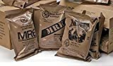 SOPACKO MREs (Meals Ready-to-Eat) Genuine U.S. Military Surplus Assorted Flavor (3-Pack) MRE